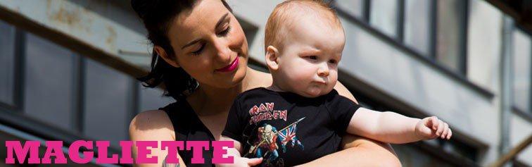T-shirt rock per bebè