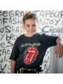 T-Shirt Rolling Stones bambini New Tongue fotoshoot