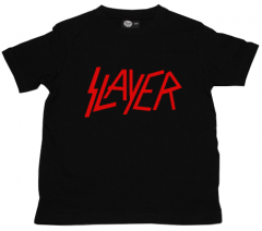 T-shirt bambini Slayer Logo Red