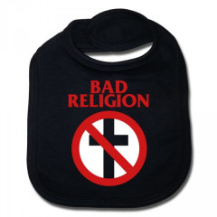 Bad Religion baby slabbetje Cross Cotton