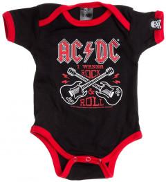 Body Bebè AC/DC Rock n Roll