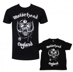 Duo Rockset t-shirt per papà Motörhead e t-shirt bebé