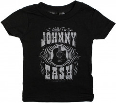 T-shirt bambini Johnny Cash I'm Johnny