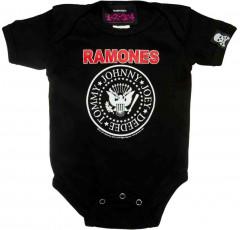body bebè rock bambino Ramones Logo Ramones