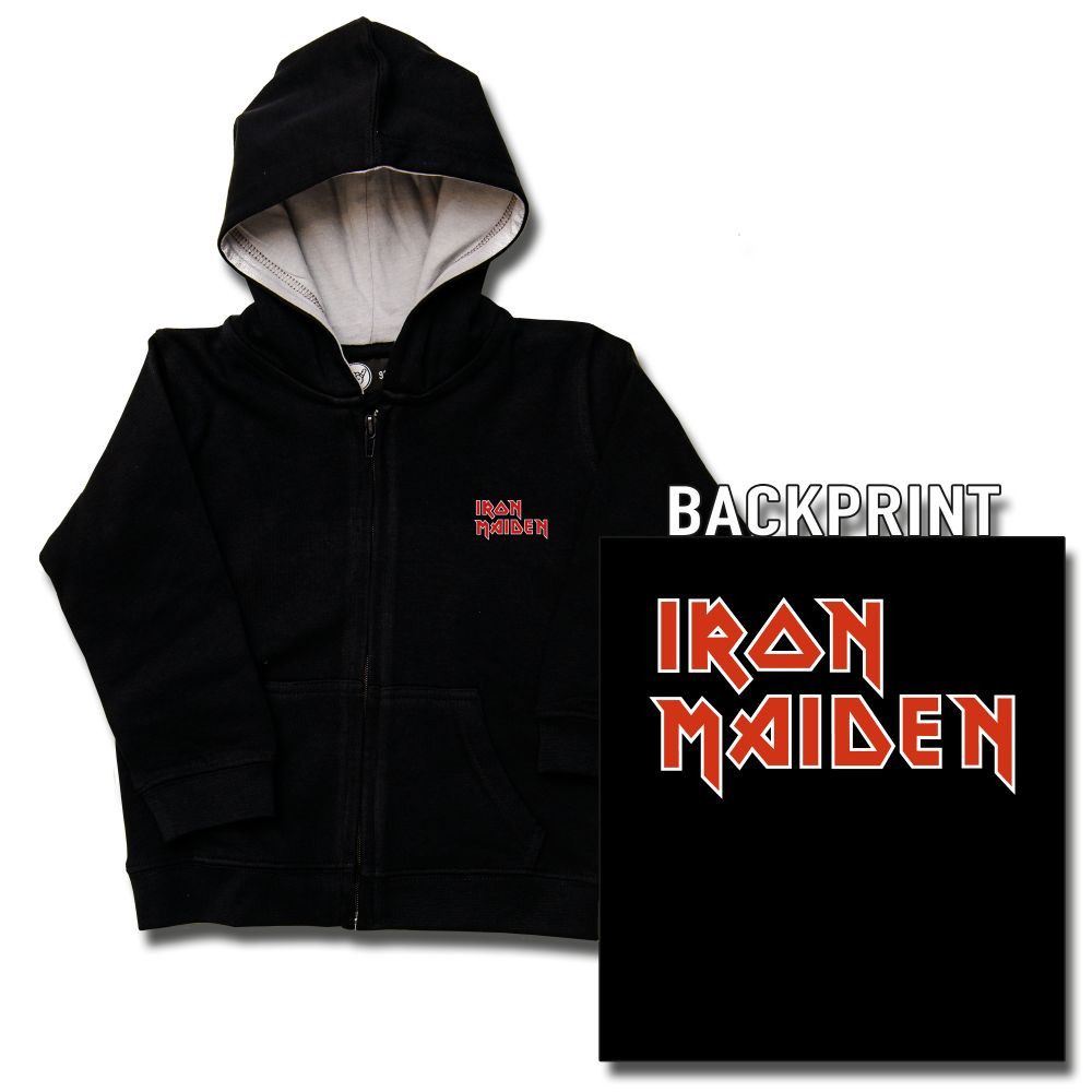 Iron Maiden Logo kids sweater (Print on demand)