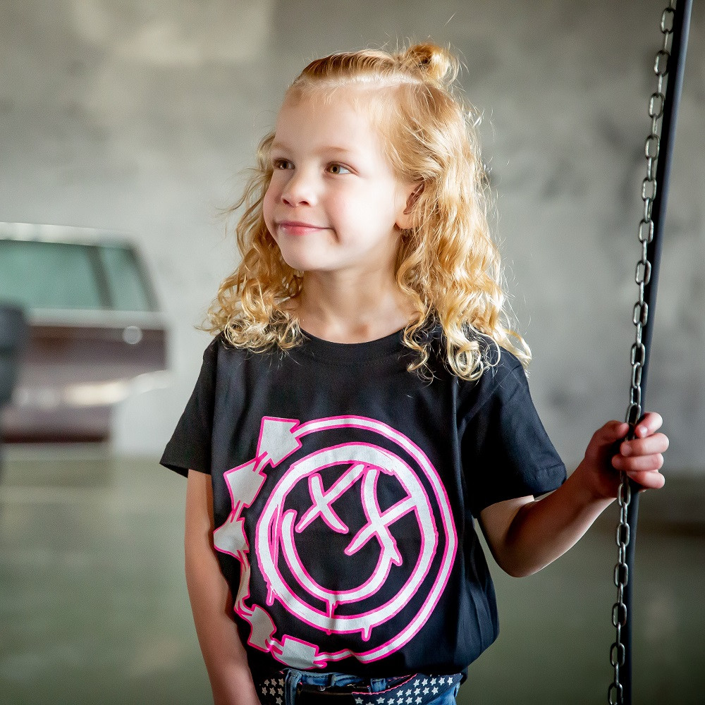 T-shirt bambini Blink 182 Smiley fotoshoot