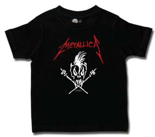 T-shirt bambini Metallica Scary Guy