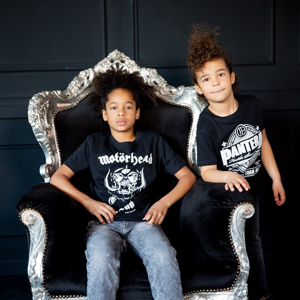 T-shirt bambini Motörhead England Motörhead fotoshoot