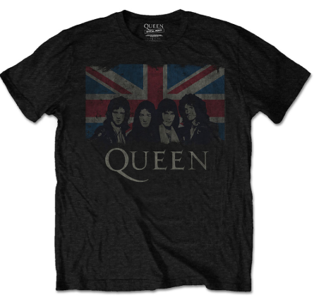 T-shirt bambini Queen England Flag