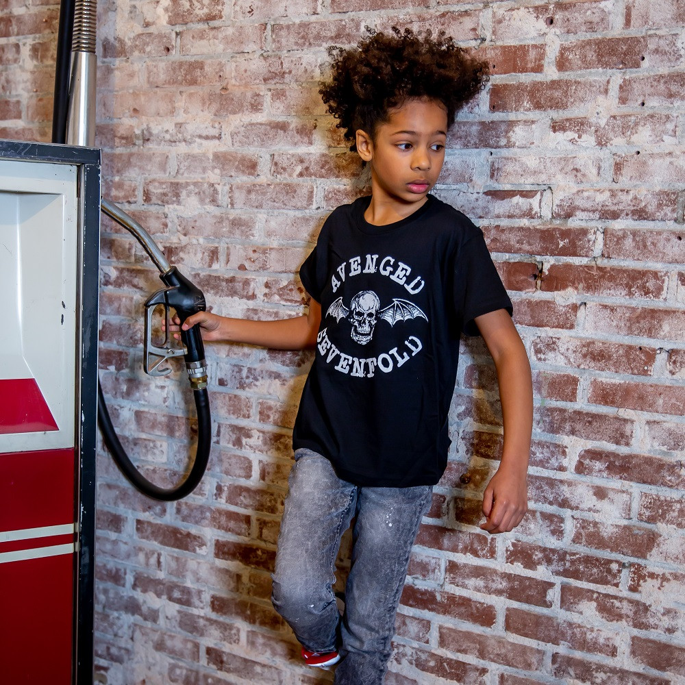 T-shirt bambini Avenged Sevenfold Logo fotoshoot