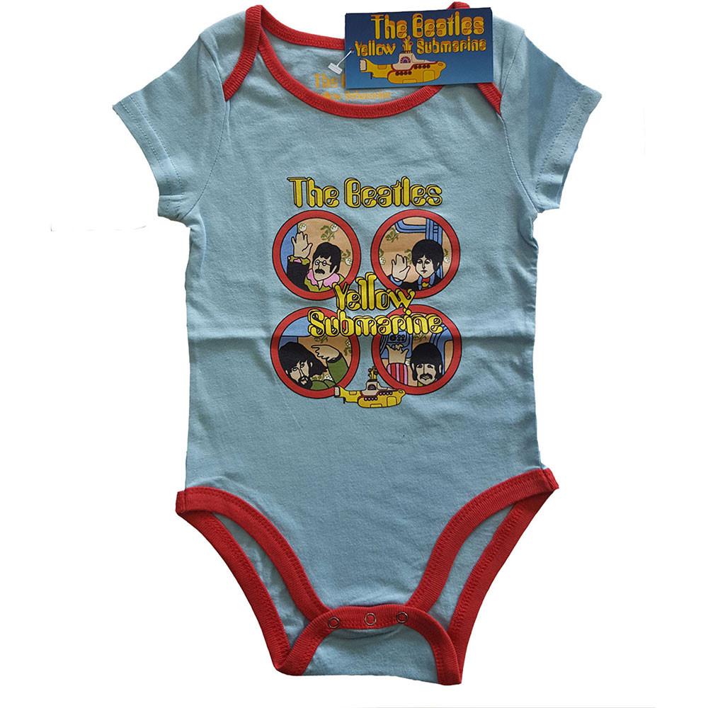 Body bebè The Beatles Yellow Submarine two-tone