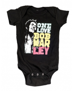 Body Bob Marley bebè Smile Love