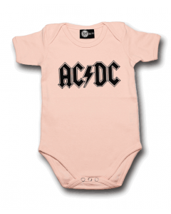 Body bebè AC/DC Logo Pink – body bebe rock