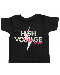 T-shirt bambini AC/DC High Voltage