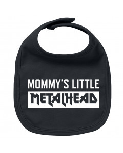 Bavaglino Mommy's Little Metalhead