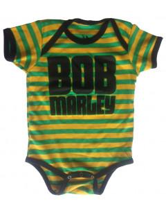 Body bebè Bob Marley Baby Jamaica Stripe
