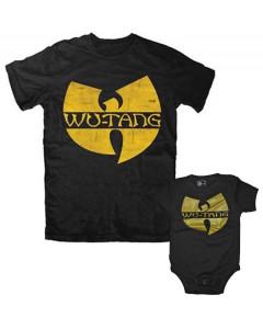 Duo Rockset t-shirt per papà Wu-Tang Clan e Body bebè Wu-Tang Clan
