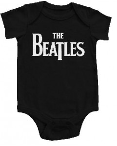 Body bebè The Beatles Eternal Black