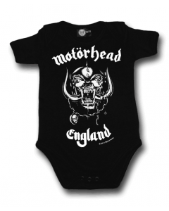 Body bebè Motorhead England | Body Baby Metal