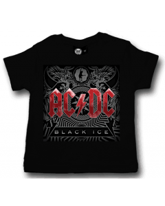 ACDC t-shirt bebè Black Ice ACDC