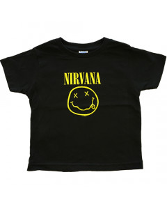 T-shirt bambini Nirvana Smiley