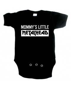 Body bebè Metal mommy's little metalhead