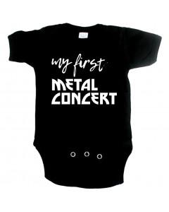 Body bebè Metal my first metal concert