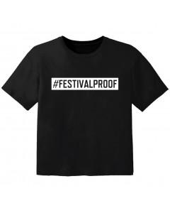 T-shirt Bambini Festival #festivalproof