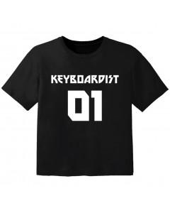 T-shirt Bambino Rock keyboardist 01