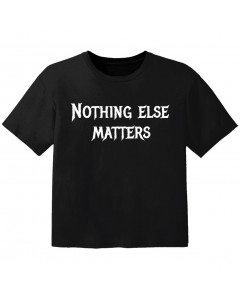 T-shirt Bambini nothing else matters
