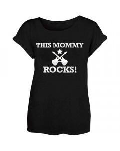 Mamma T-shirt This Mommy Rocks