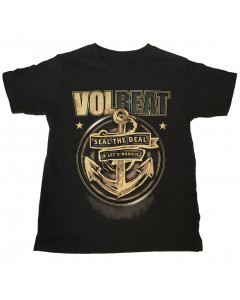T-shirt bambini Volbeat Seal the deal Volbeat