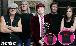 AC/DC abbigliamento bebè rock