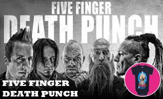 Five Finger Death Punch abbigliamento bebè rock