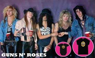 Guns 'N Roses abbigliamento bebè rock