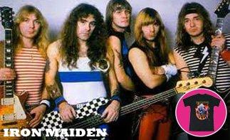 Iron Maiden abbigliamento bebè rock