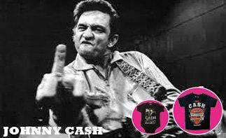 Johnny Cash abbigliamento bebè rock