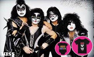 Kiss abbigliamento bebè rock