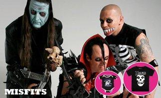 Misfits abbigliamento bebè rock