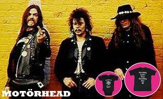 Motörhead abbigliamento bebè rock