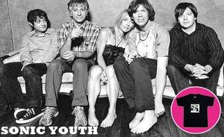 Sonic Youth abbigliamento bebè rock